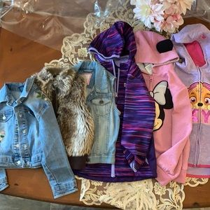 Bundle with different kind of jackets for girls